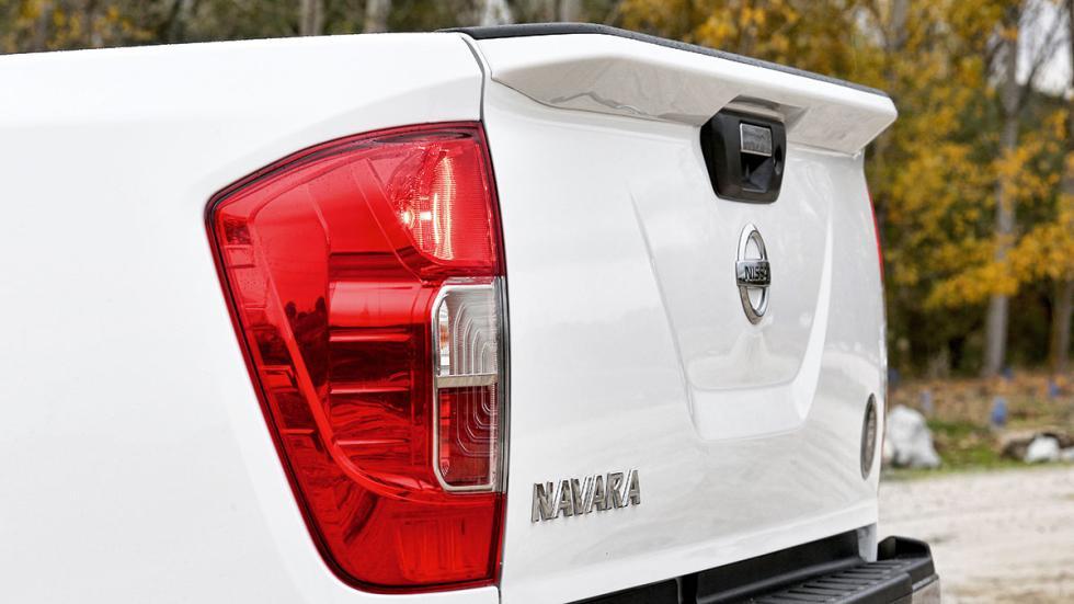 Nissan NP300 Navara 2.3 dCi Doble Cabina detalle caja