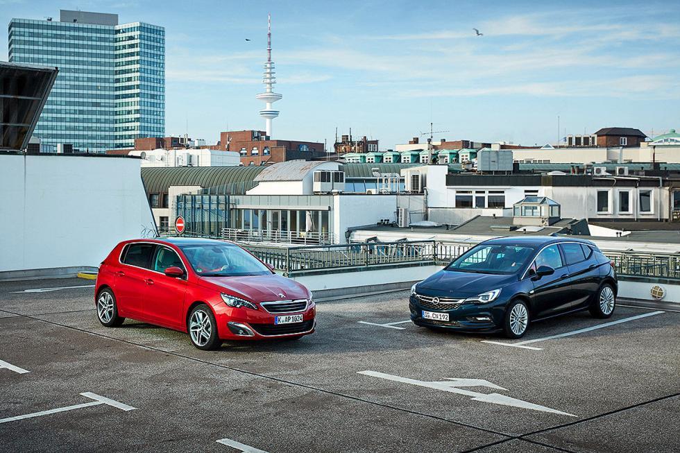 Cada 4 Peugeot vendidos, uno es el 308. Lo mismo le pasa a Opel con el Astra. Co