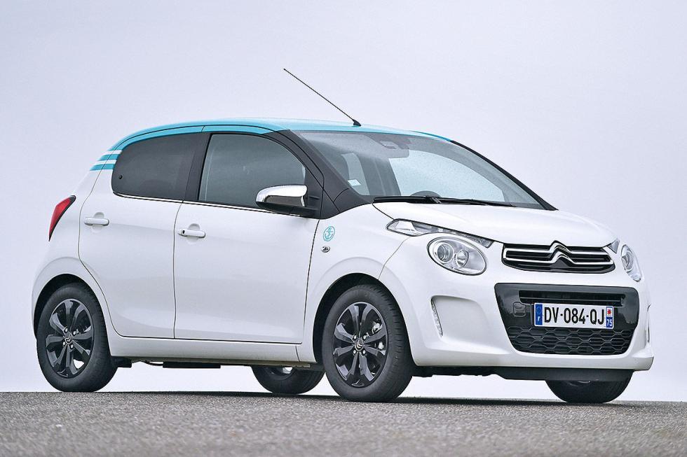 ... y eso que el C1, que comparte plataforma con el Peugeot 108 y mide 3,47 m, e