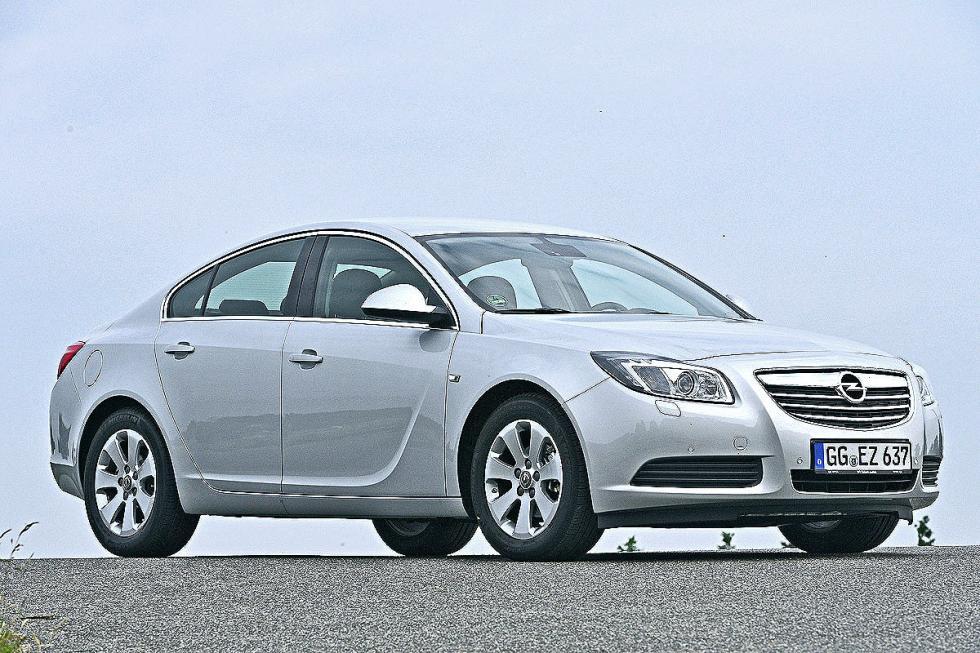 Berlinas medias: aún tenemos el Opel Insignia de 2008...