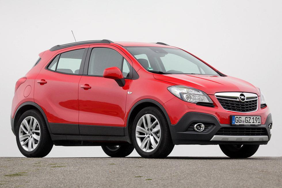 SUV compactos: el Opel Mokka, más grande (4,28 m), gana al Peugeot 2008. 459 fre