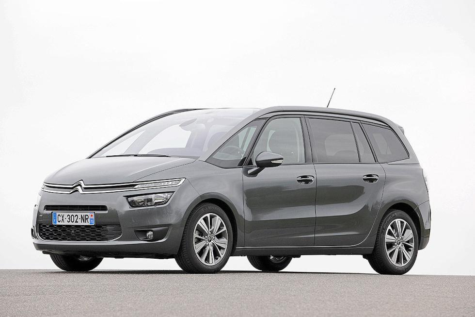 Monovolúmenes compactos: Citroën doble: el C4 Picasso (4,43 m) y el Grand Picass