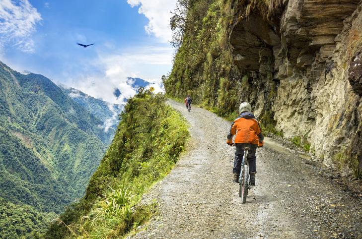 La carretera de la muerte (Bolivia)