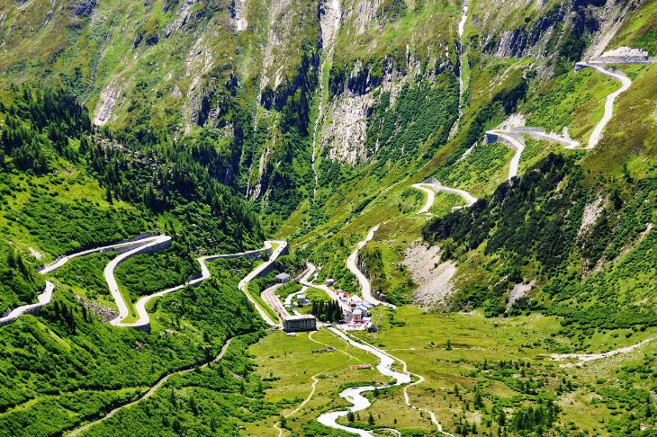 El Paso de Furka (Suiza)