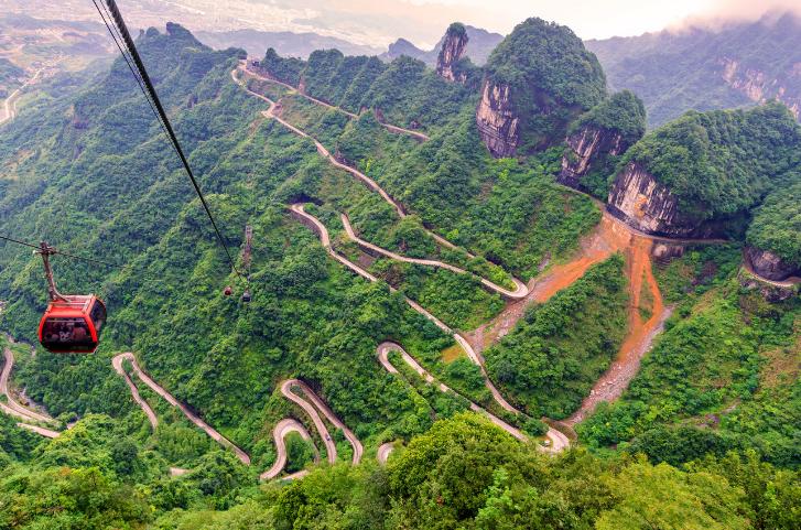 La Puerta del cielo (China)