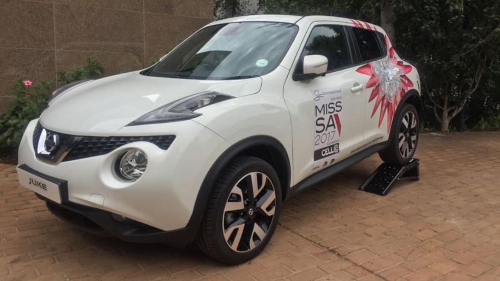 Nissan Juke Miss Sudáfrica 2017