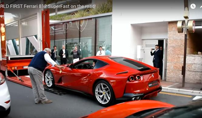 Ferrari 812 Superfast, visto en Mónaco