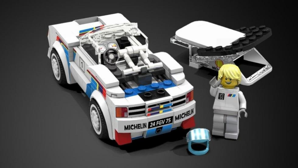 Peugeot 205 T16 Evo 2 Rally Car de LEGO Ideas
