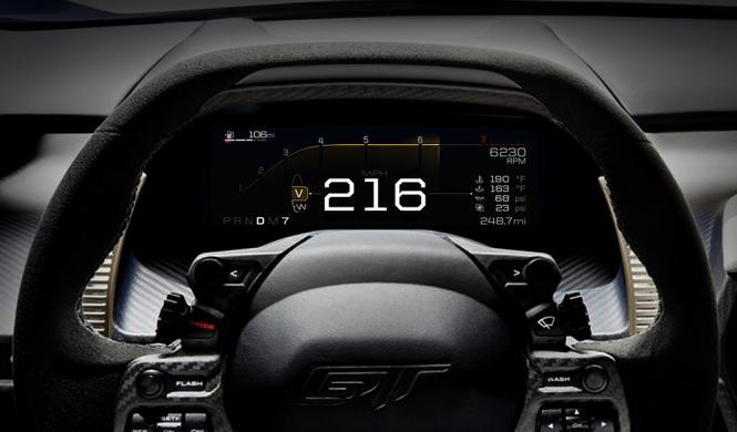 Así son los modos de conducción del nuevo Ford GT