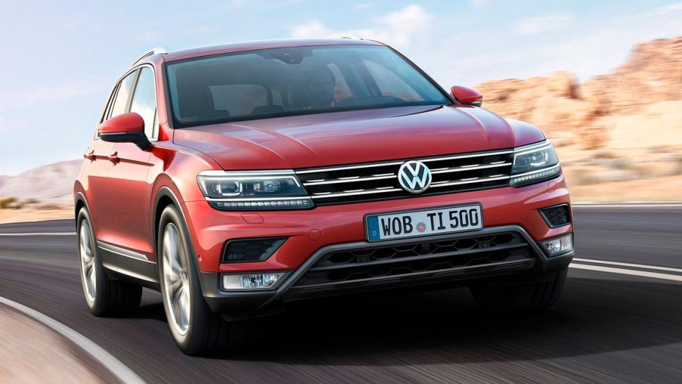 Coches más fiables. SUV. 2: Volkswagen Tiguan