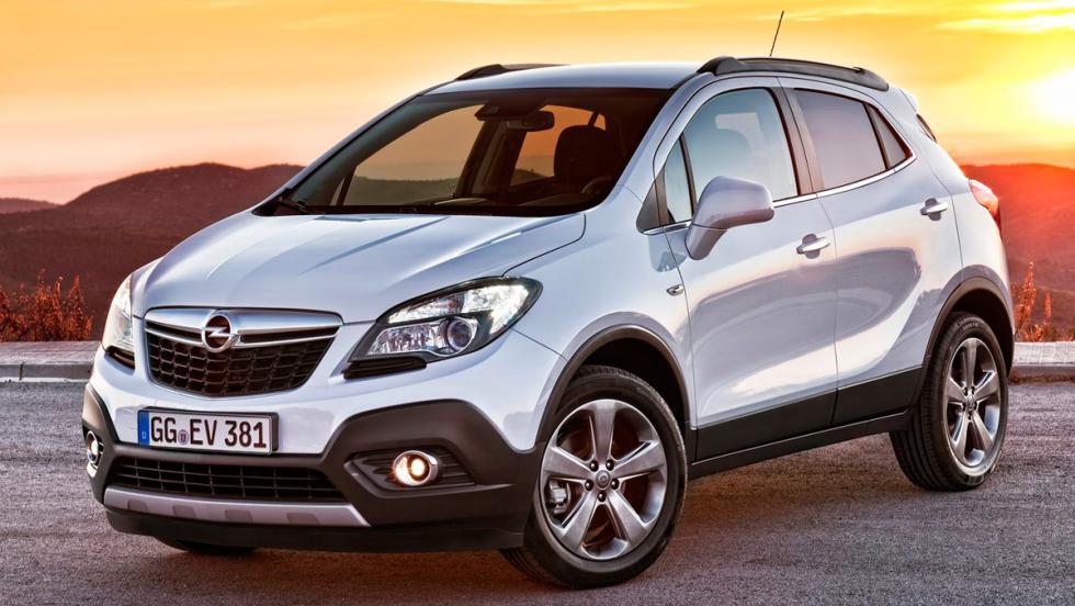 Coches más fiables. SUV. 3: Opel Mokka