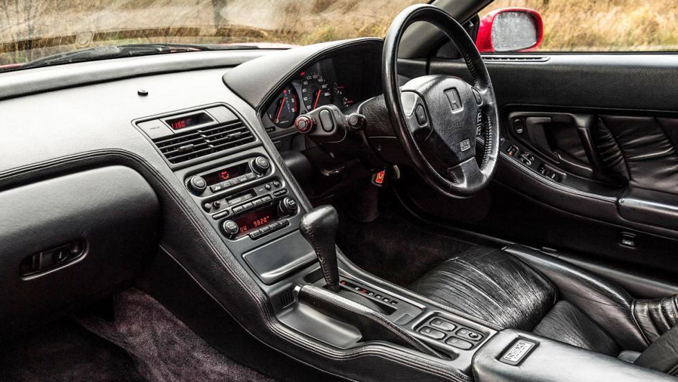 Honda NSX contra Honda NSX