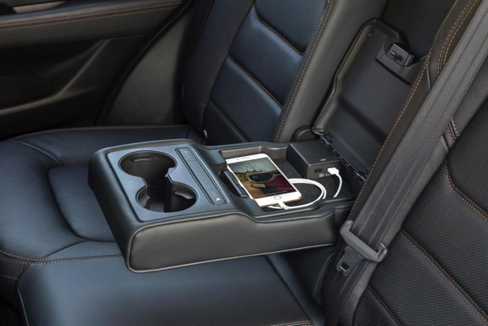Mazda CX-5 2017 reposabrazos