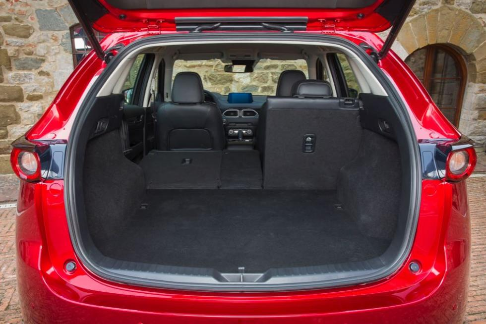 Mazda CX-5 2017 maletero