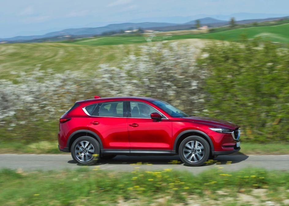 Mazda CX-5 2017 lateral