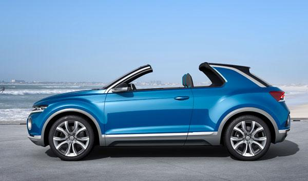 Volkswagen T-ROC lateral
