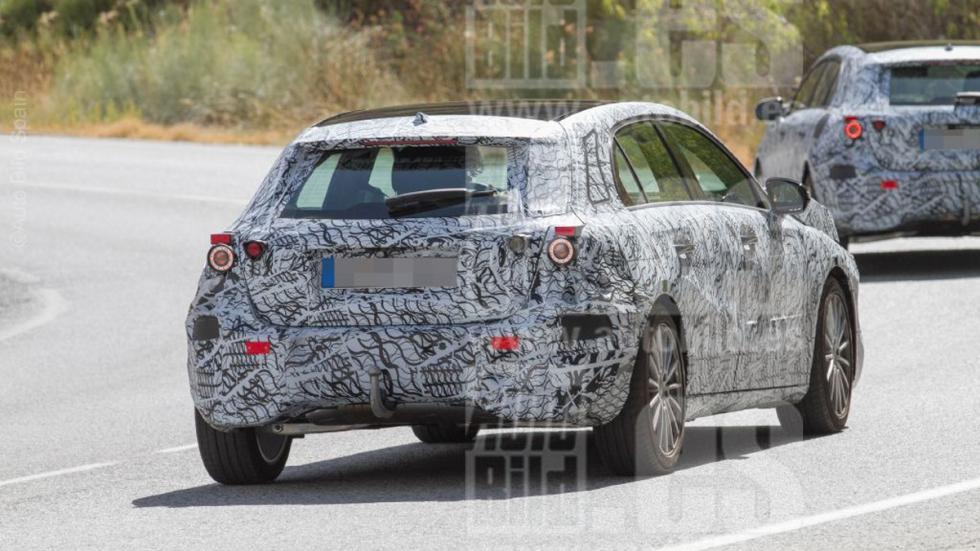 Mercedes Clase A 2018 fotos espía trasera