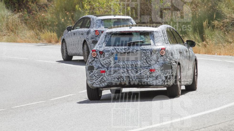 Mercedes Clase A 2018 fotos espía zaga