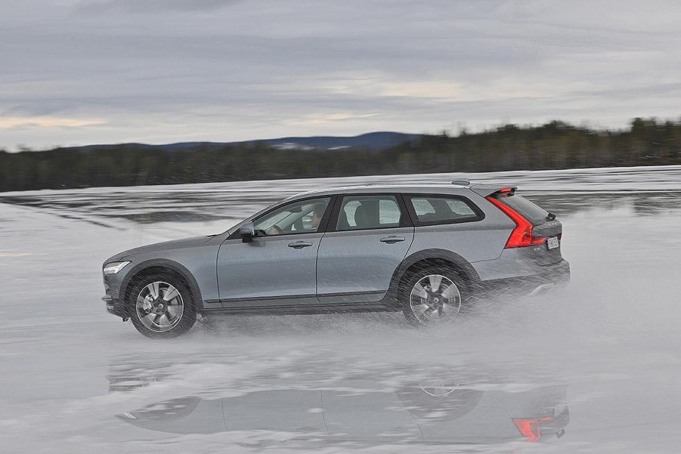 Prueba del Volvo V90 Cross Country 2017