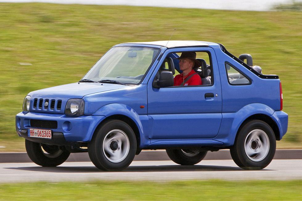 Suzuki Jimny. Aparece mucha corrosión, y el pedal del freno pierde efecto. Mucha