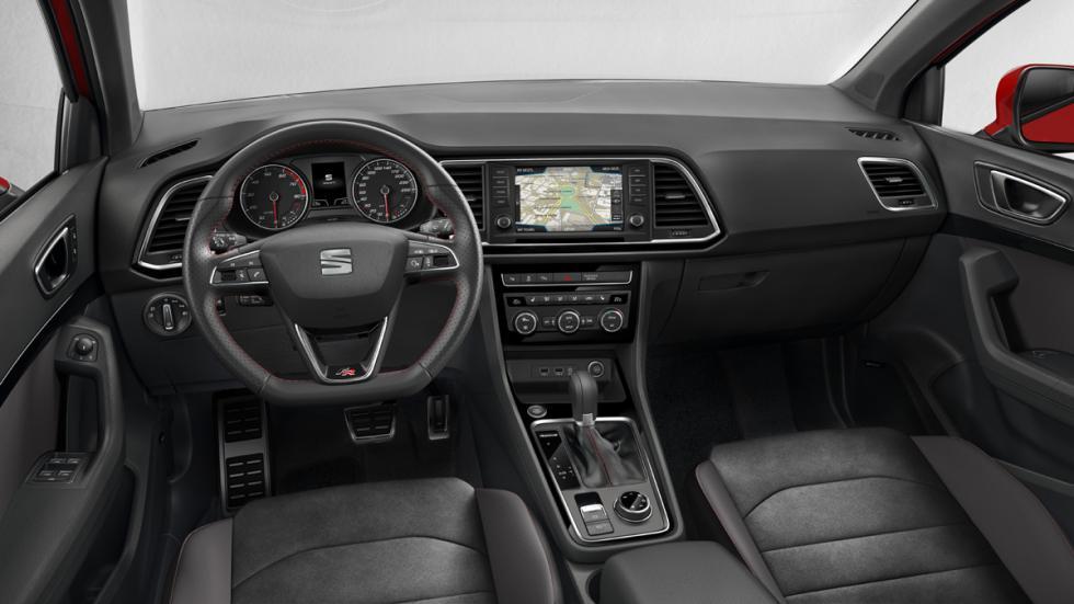 Seat Ateca FR 2017 interior
