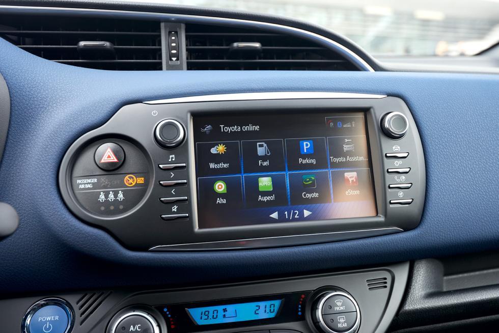 Toyota Touch 2 del nuevo Toyota Yaris