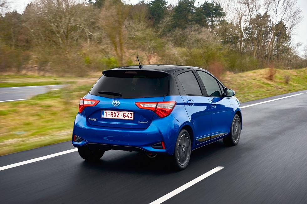Toyota Yaris 2017 con nuevo portón