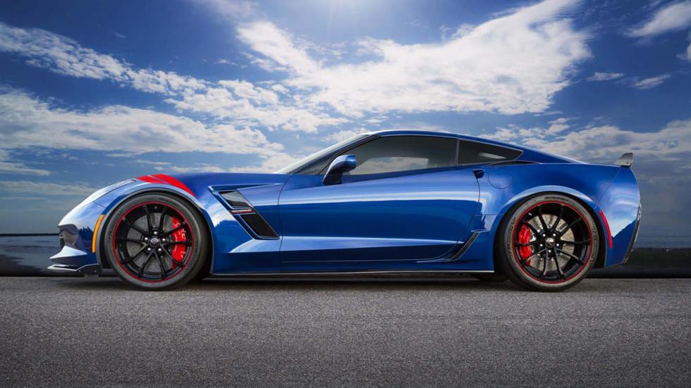Chevrolet Corvette Grand Sport Admiral Blue Heritage lateral