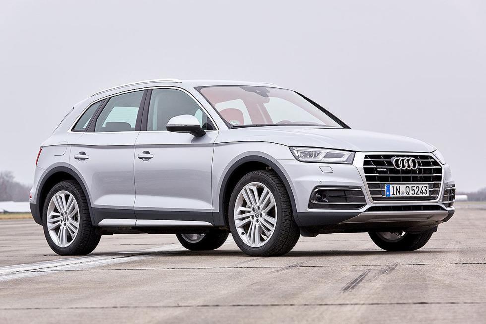 Audi Q5 (2017) vs rivales