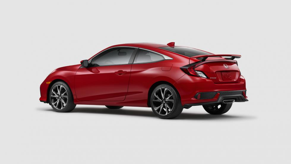 Honda Civic Si Coupé 2017 zaga