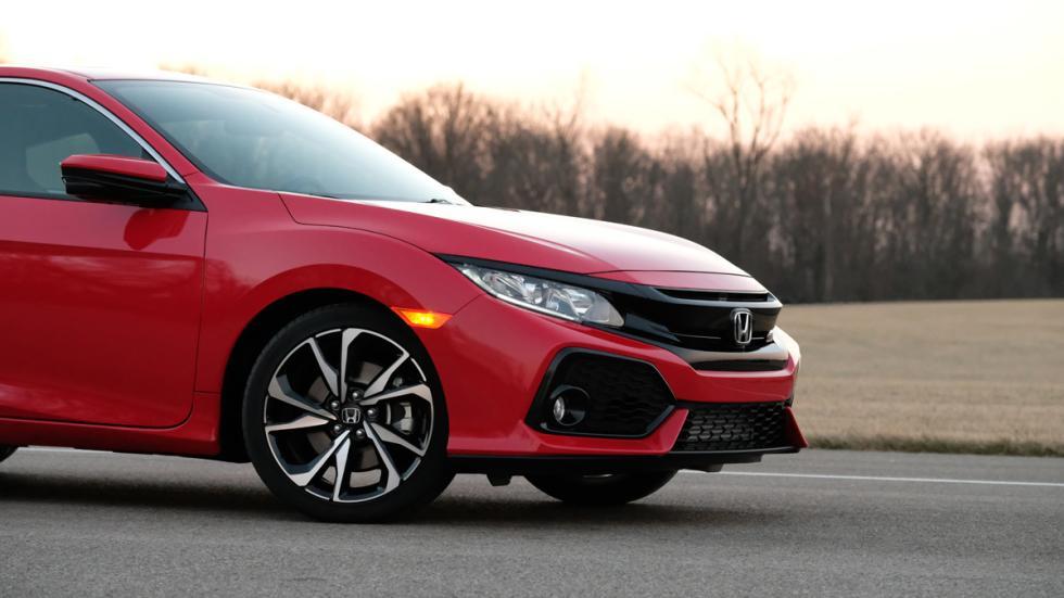 Honda Civic Si Coupé 2017 detalle morro