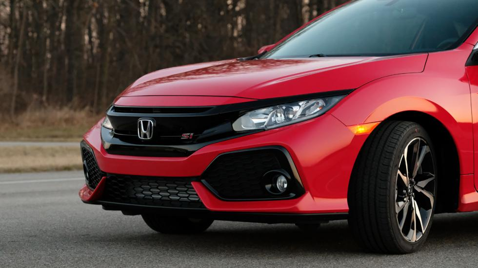 Honda Civic Si Coupé 2017 detalle frontal