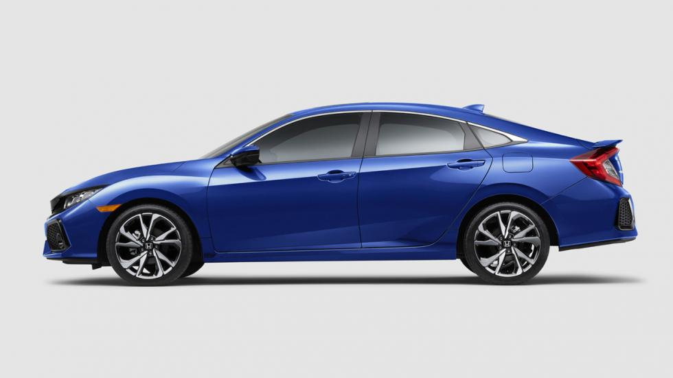 Honda Civic Si sedán 2017 lateral
