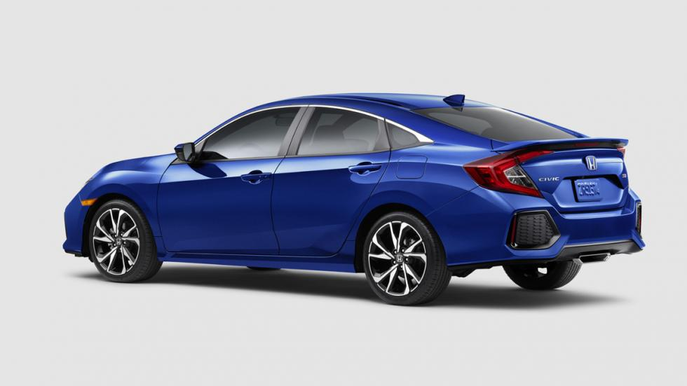 Honda Civic Si sedán 2017 trasera