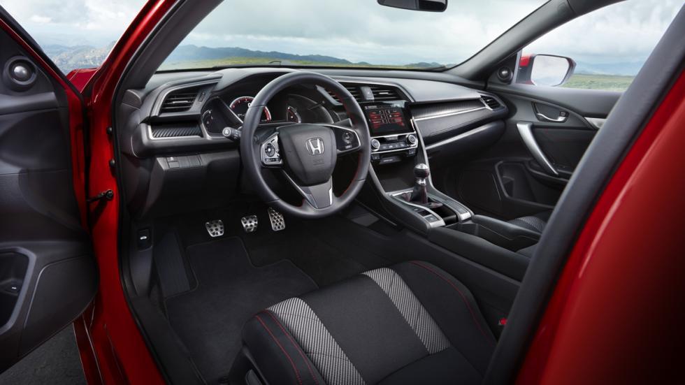 Honda Civic Si sedán 2017 habitaculo