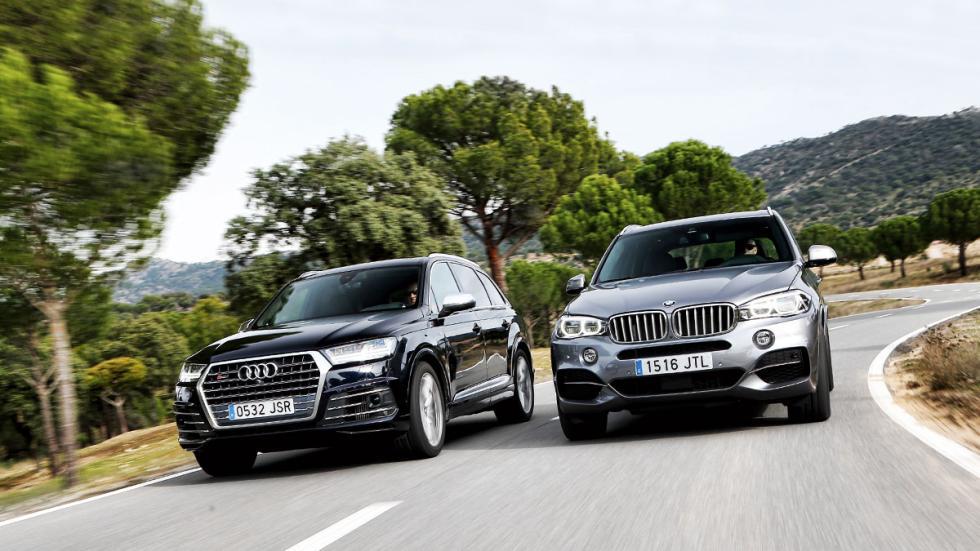 Audi Q7 contra BMW X5