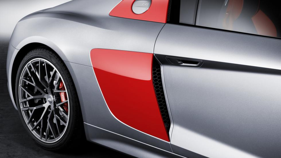 Audi R8 Audi Sport Edition detalle lateral