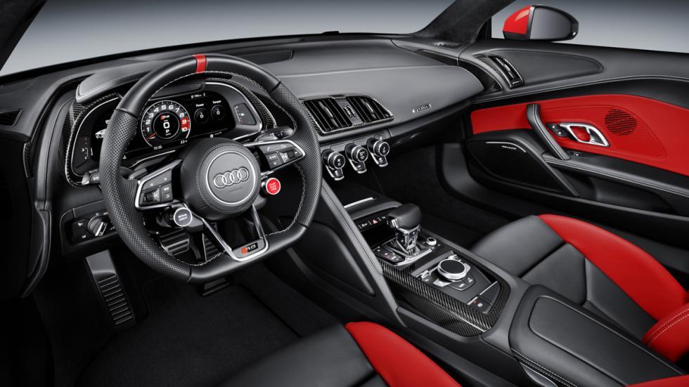 Audi R8 Audi Sport Edition interior