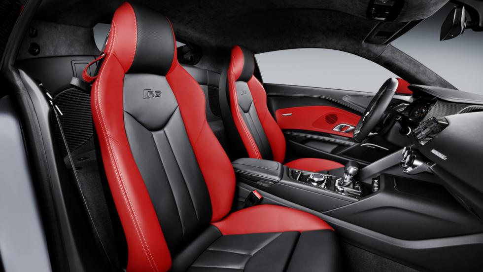 Audi R8 Audi Sport Edition asientos