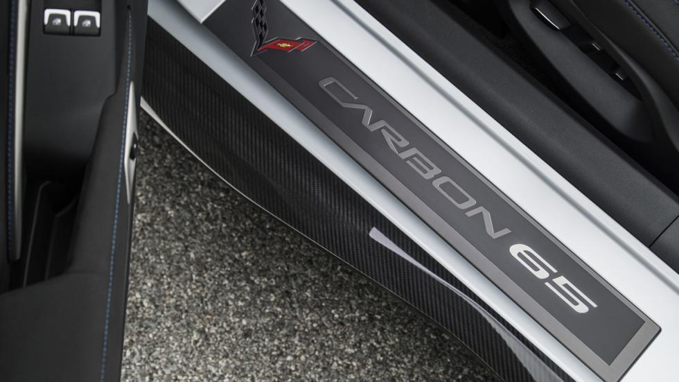 Chevrolet Corvette Carbon 65 Edition detalle puerta