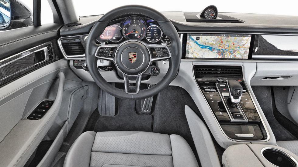 Porsche Panamera 4S Diesel salpicadero
