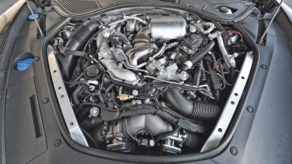Porsche Panamera 4S Diesel motor