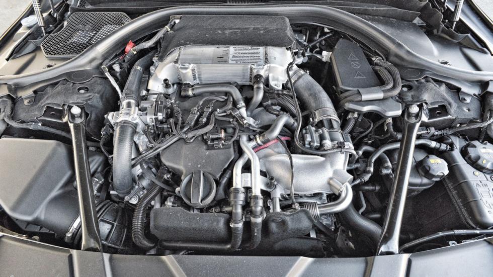 BMW 750d xDrive motor