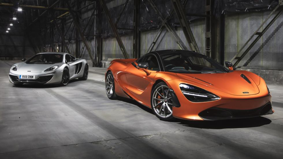 primer McLaren 720S de producción