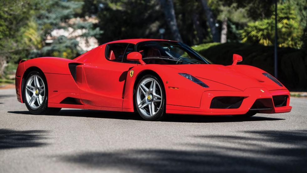 subasta Ferrari Enzo Rosso Scuderia