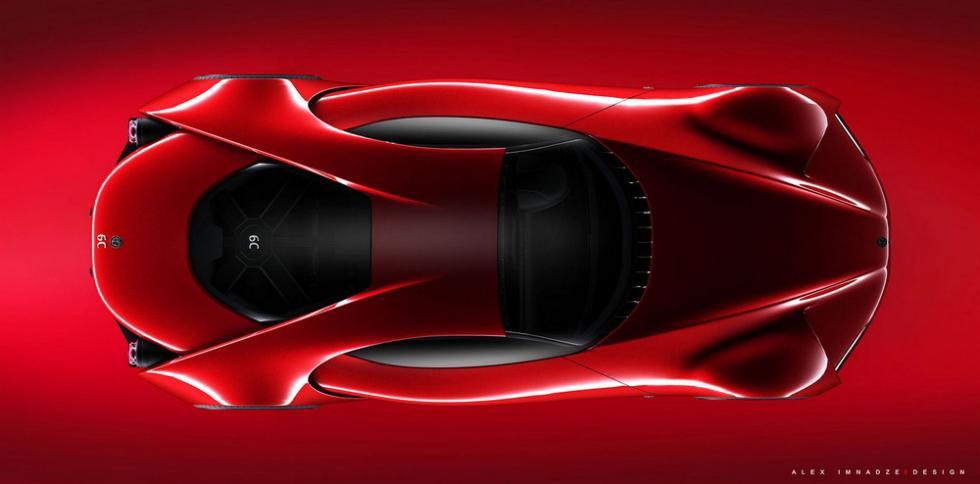 Alfa Romeo 6C Disco Volante techo