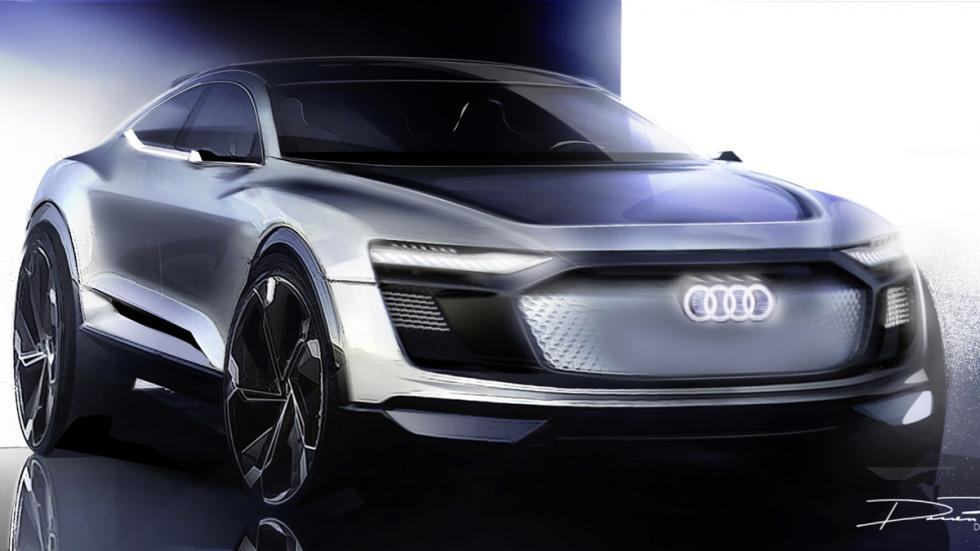 Audi e-tron Sportback Concept boceto