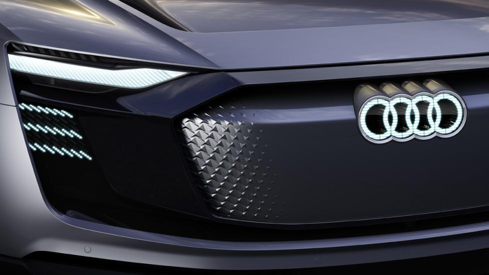 Audi e-tron Sportback Concept boceto parrilla
