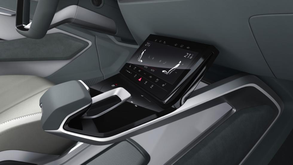Audi e-tron Sportback concept detalle interior