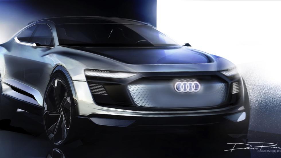 Audi e-tron Sportback concept dibujo